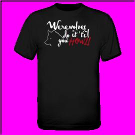 werewolf t-shirt