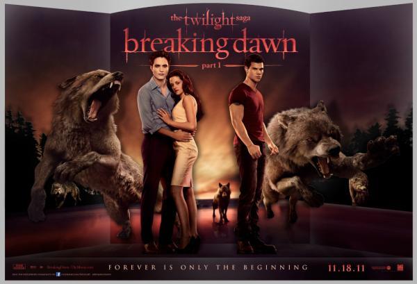 breaking dawn officiel plakat